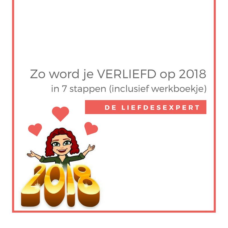 LiefdesExpert Vicky Kwaaitaal helpt jou VERLIEFD te worden op 2018! Met gratis werkboekje!
